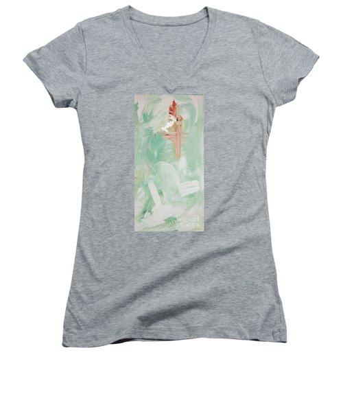 Falling Water Women's V-Neck (Athletic Fit)