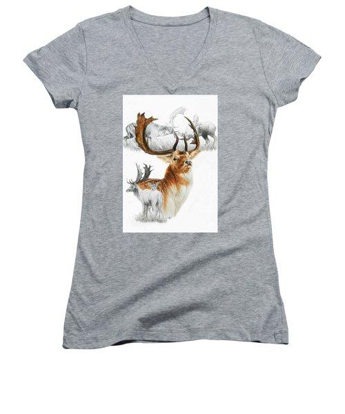 Fallow Deer Women's V-Neck