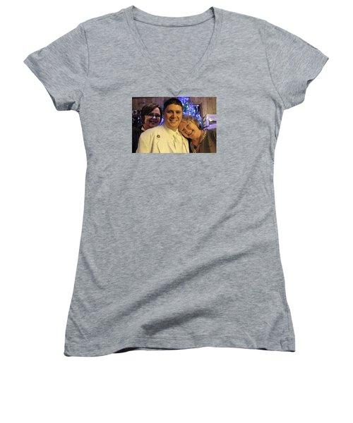 Family Women's V-Neck T-Shirt