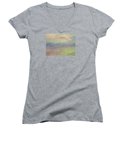 Fantasy Fields Women's V-Neck (Athletic Fit)