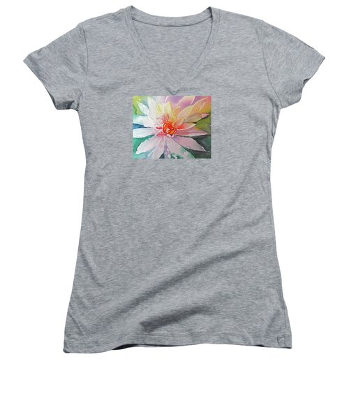 Fantasy Flower Women's V-Neck