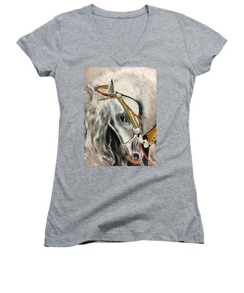 Fantasy Horse Women's V-Neck (Athletic Fit)