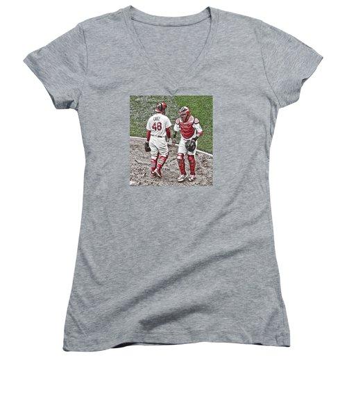 Farewell Brother Women's V-Neck T-Shirt