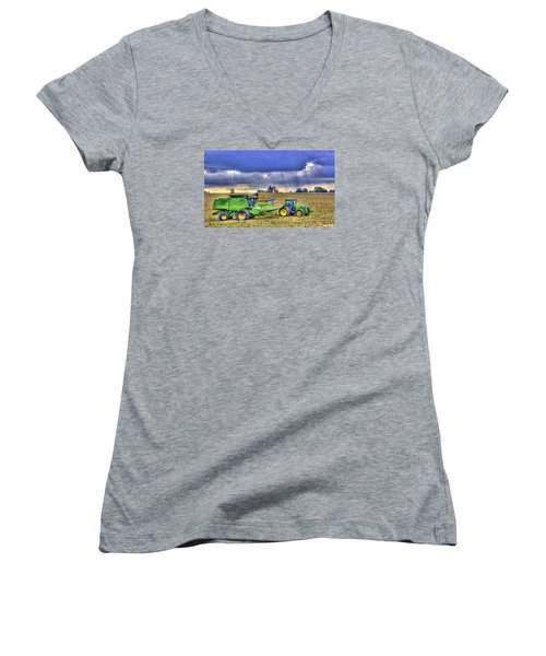 Farm Harvest 1 Women's V-Neck
