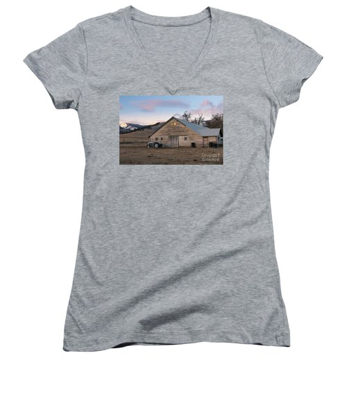 Farm Reflections Women's V-Neck (Athletic Fit)