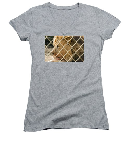 Feast For A King Women's V-Neck