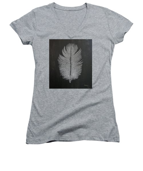 Feather 1 Women's V-Neck
