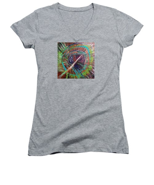 Feather Women's V-Neck