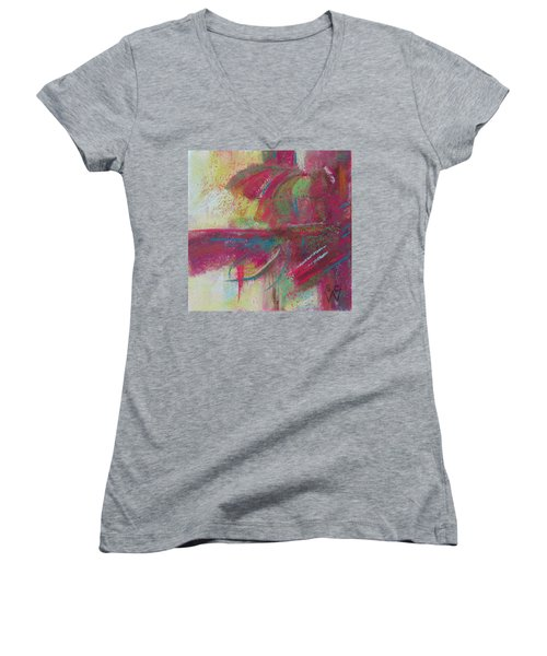 Feathering Women's V-Neck (Athletic Fit)