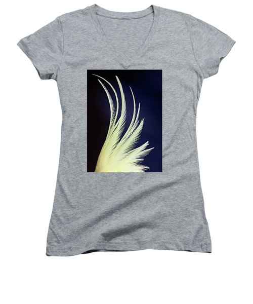 Feathers Women's V-Neck (Athletic Fit)