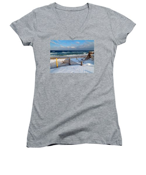 February Delight Women's V-Neck T-Shirt