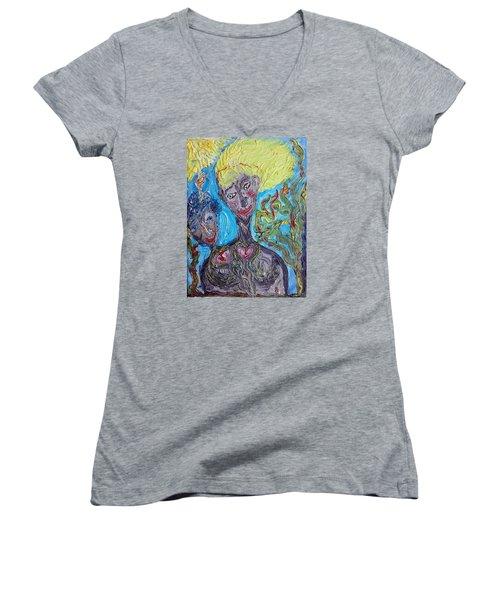 Feelings. Women's V-Neck T-Shirt