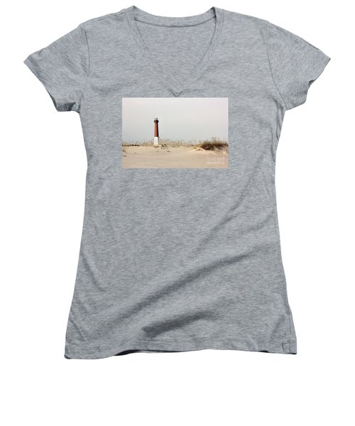 Women's V-Neck T-Shirt (Junior Cut) featuring the photograph Feels Like Home by Dana DiPasquale