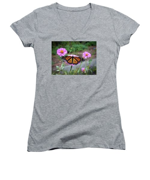 Female Monarch  Women's V-Neck (Athletic Fit)