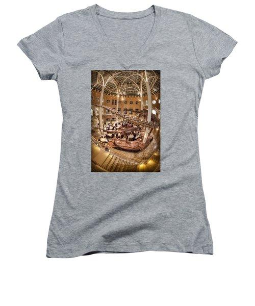 Fernbank Museum Women's V-Neck T-Shirt