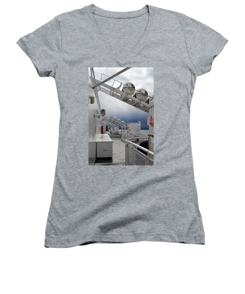 Ferry Crossing Women's V-Neck (Athletic Fit)