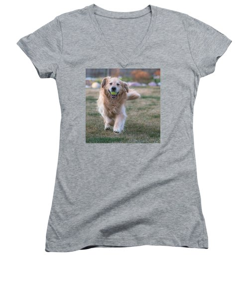 Fetch Women's V-Neck