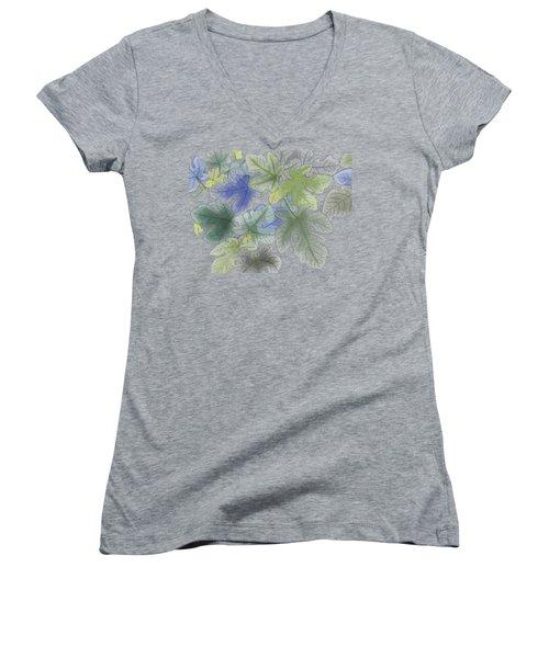 Ficus Carica Women's V-Neck T-Shirt