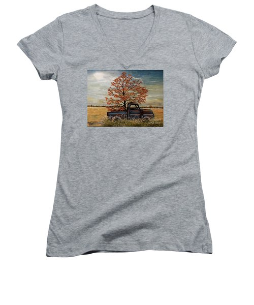 Field Ornaments Women's V-Neck (Athletic Fit)