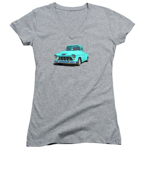 Fifty5 Stepside Pickup Women's V-Neck (Athletic Fit)