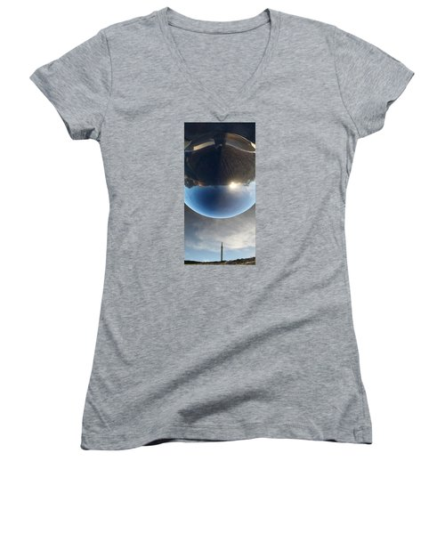 Final Frontier Women's V-Neck T-Shirt