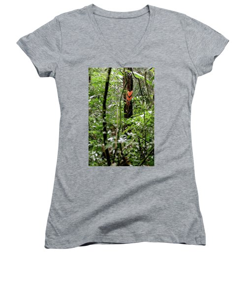 Find Love Wherever You Can Women's V-Neck (Athletic Fit)