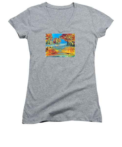 Finding Father Women's V-Neck