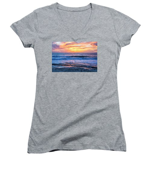 Fine End To The Day Women's V-Neck T-Shirt
