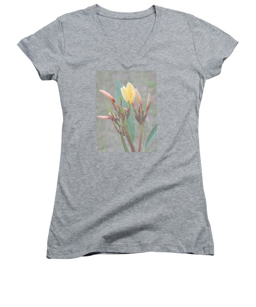 First Bud Women's V-Neck T-Shirt