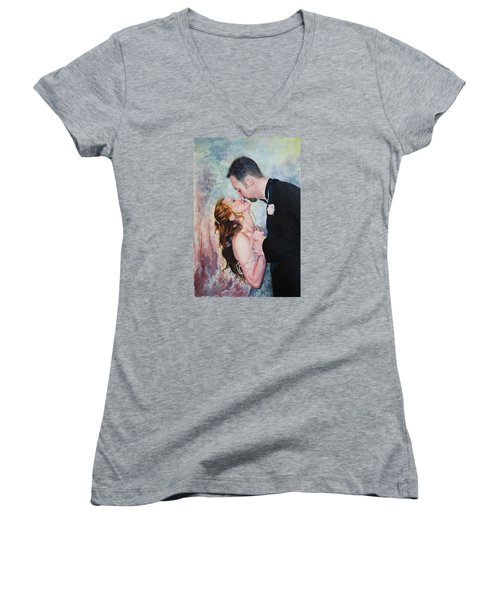 First Dance Women's V-Neck T-Shirt