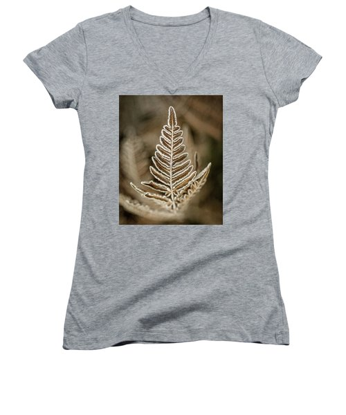 First Frost Women's V-Neck