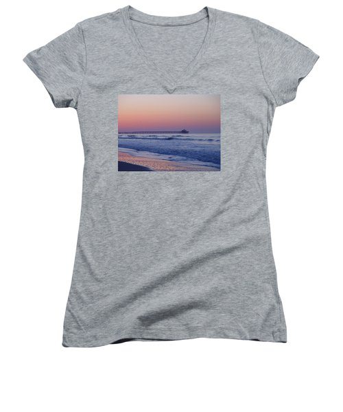 First Pier Women's V-Neck