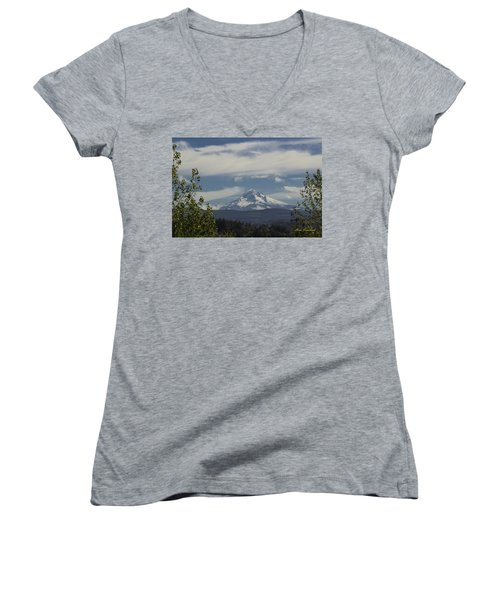 First Snow Signed Women's V-Neck