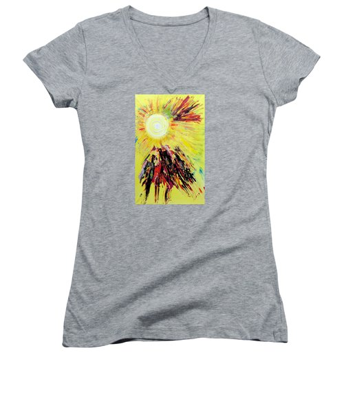 First Sun Women's V-Neck (Athletic Fit)