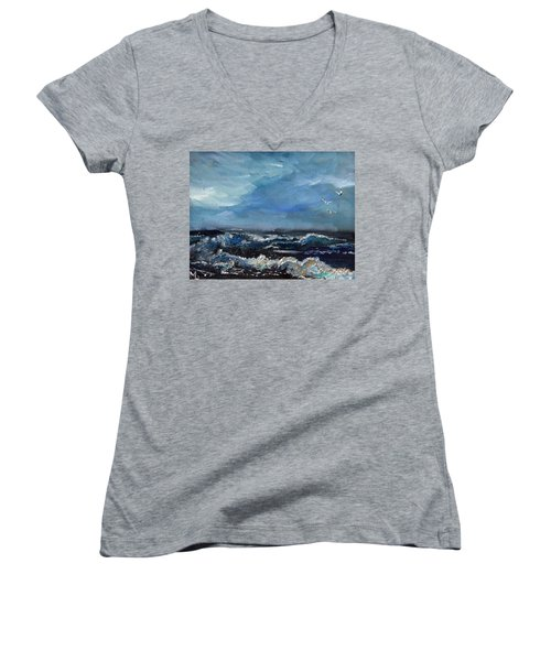 Fishing Expedition Women's V-Neck