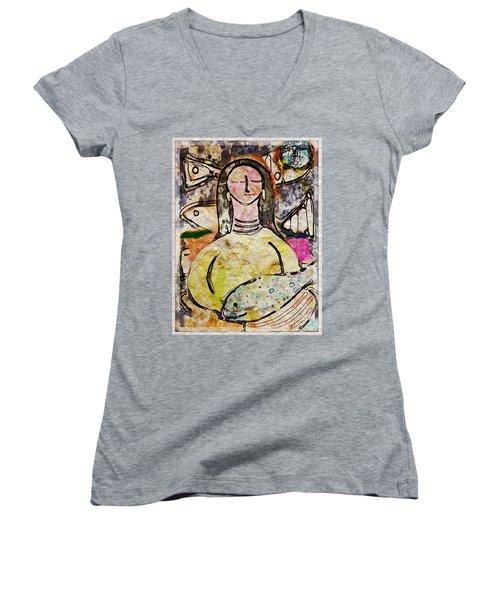 Fishmonger's Wife Women's V-Neck T-Shirt