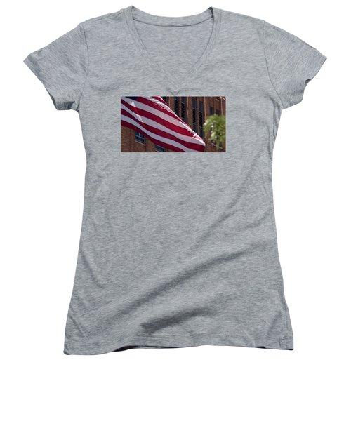 Flag Courtship Women's V-Neck
