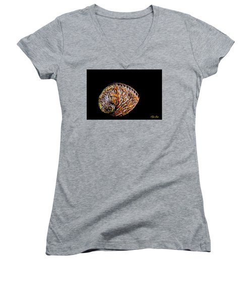 Flame Abalone Women's V-Neck