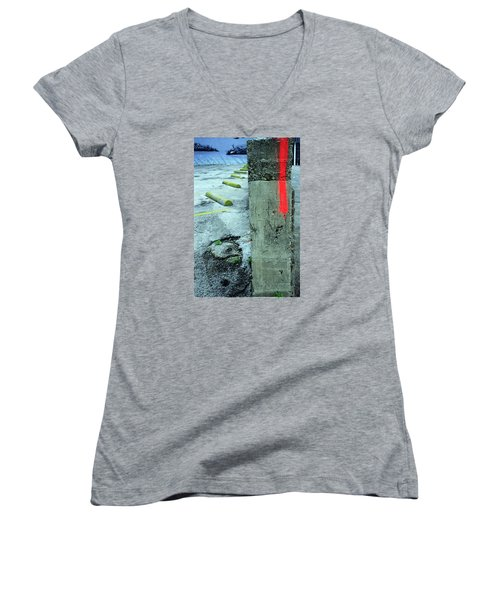 Flash Flood Women's V-Neck T-Shirt