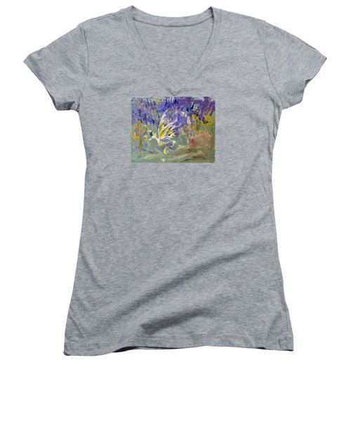 Flight Of Dreams Women's V-Neck T-Shirt