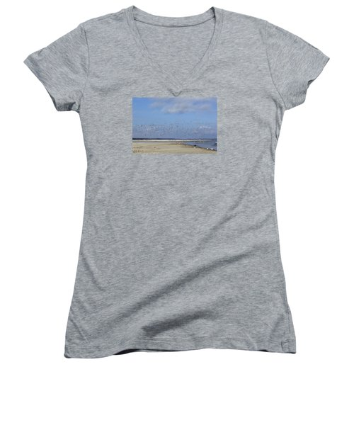 Flight Women's V-Neck T-Shirt