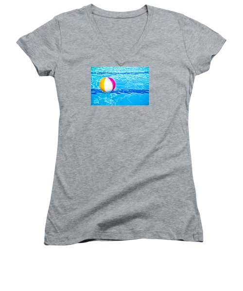 Float Women's V-Neck T-Shirt