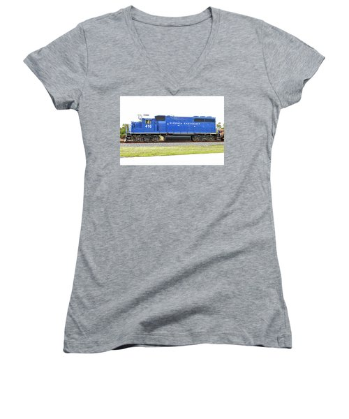 Floirda East Coast Engine Women's V-Neck T-Shirt