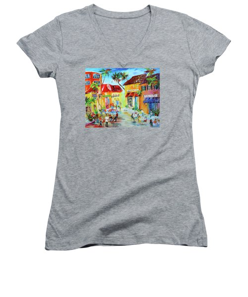 Florida Cafe Women's V-Neck