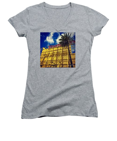 Florida Thunderbird Drive In Women's V-Neck