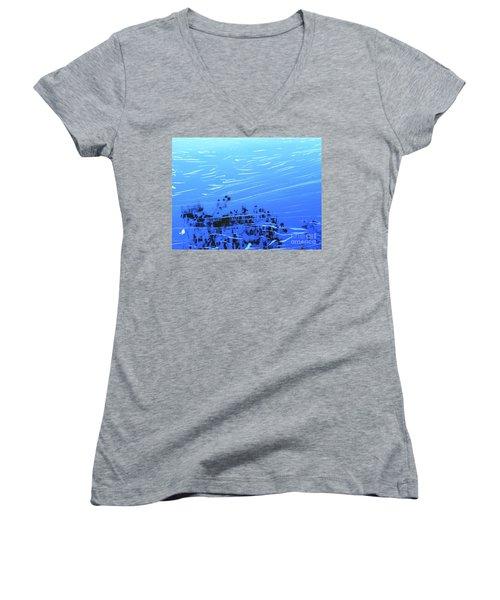 Flow Of Life Women's V-Neck T-Shirt