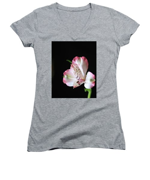 Flower IIi Women's V-Neck (Athletic Fit)