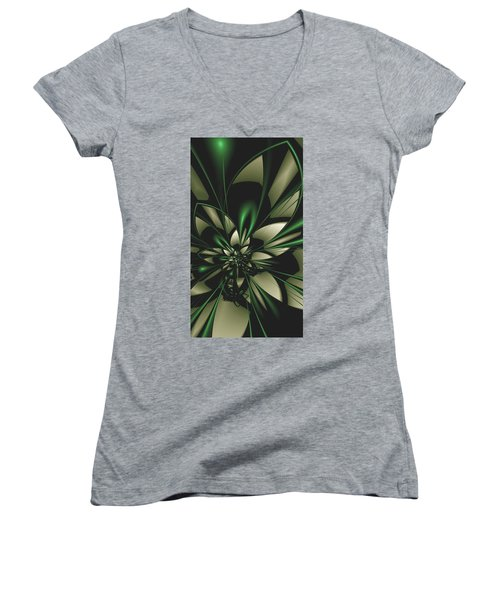 Flower Of Art Women's V-Neck T-Shirt