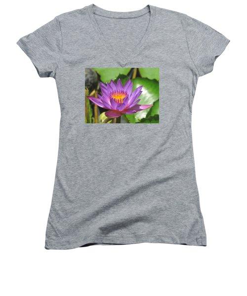 Flower Of The Lilly Women's V-Neck