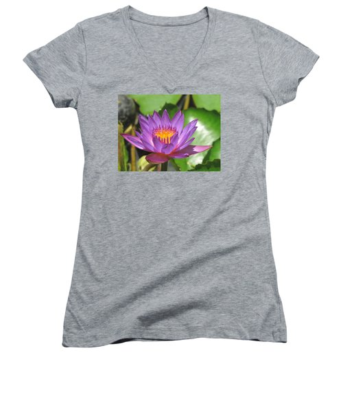 Flower Of The Lilly Women's V-Neck